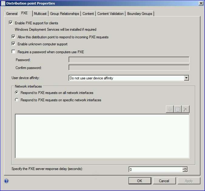 How-to enable PXE in SCCM 2012 – All about Enterprise Mobility and