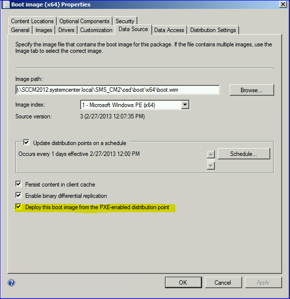 How-to enable PXE in SCCM 2012 – All about Enterprise