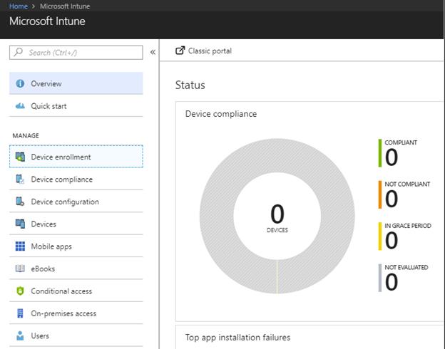 Part 2 – Configure Microsoft Intune – Windows hello and