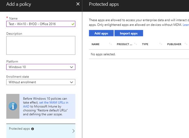 Part 11 – Configure Microsoft Intune – Mobile Application