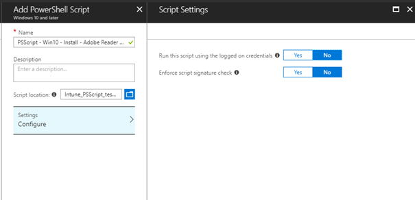 Part 16 – Configure Microsoft Intune – PowerShell Scripts