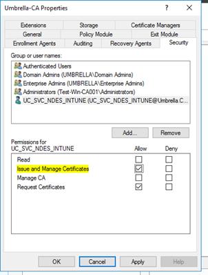 Configure Microsoft Intune – Certificates – Part 5: CNAME